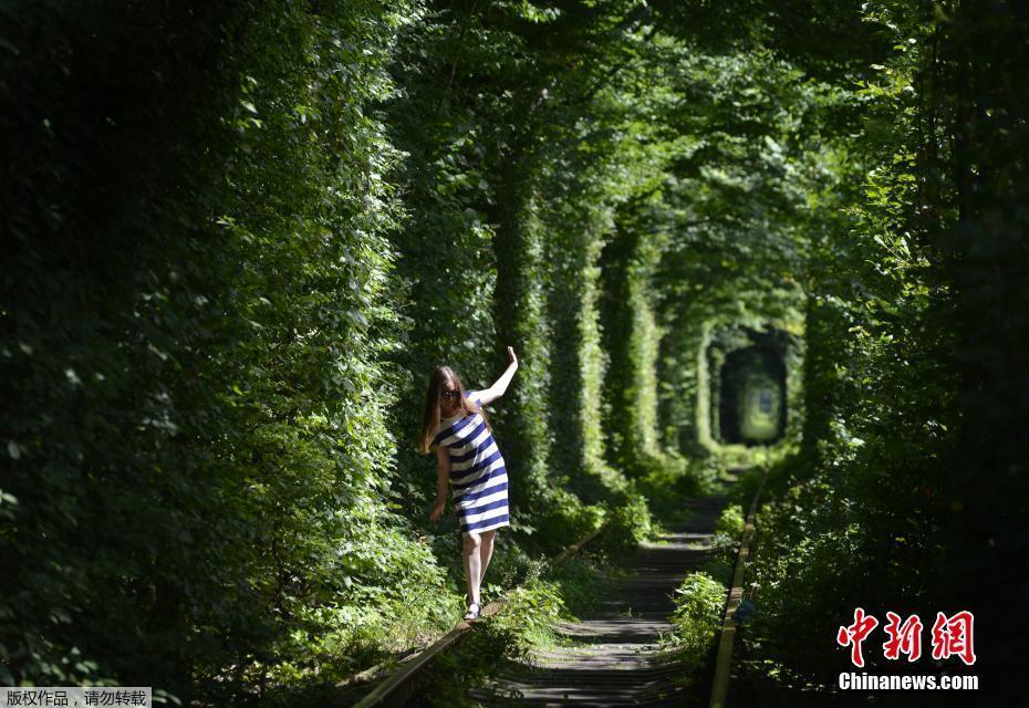 乌克兰爱情隧道成景点