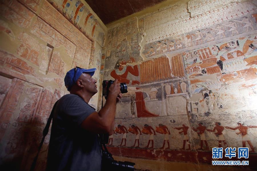 埃及一座4000多年前古墓首次对公众开放