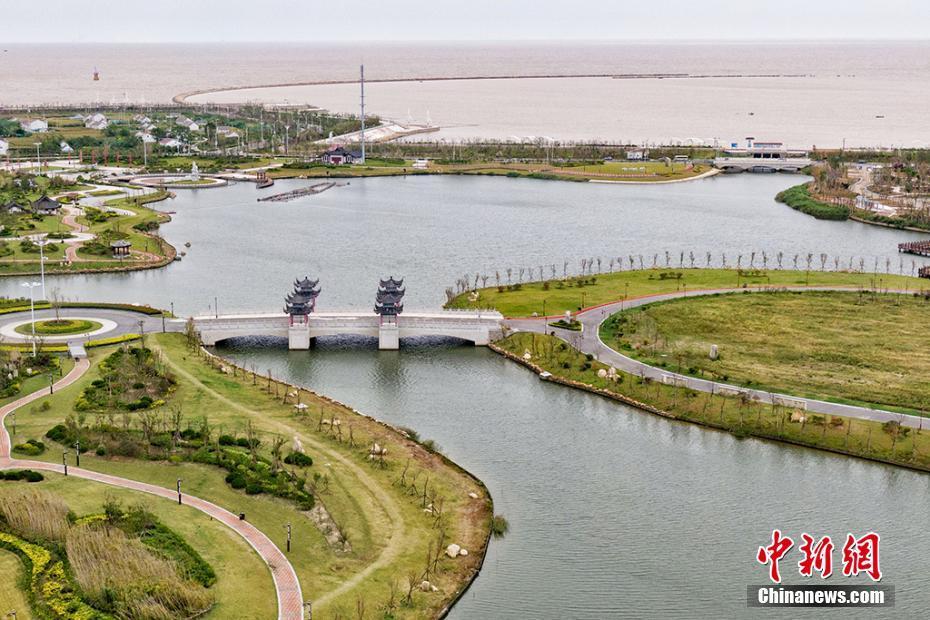 盐城滨海古黄河入海口