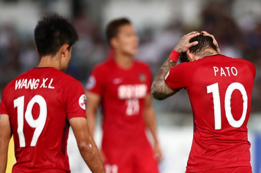 亚冠-拼尽全力难求胜 权健0-3再负鹿岛总分0-5出局