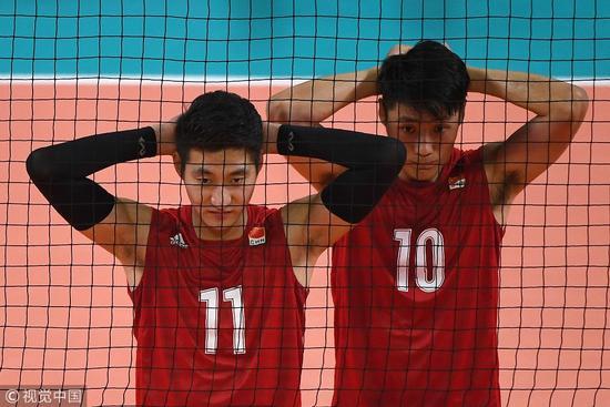 5连败!男排世锦赛中国0-3不敌巴西 小组垫底出局