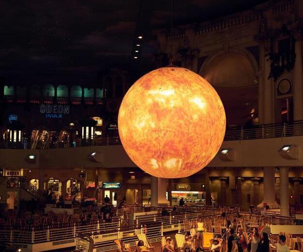 英国打造巨型太阳