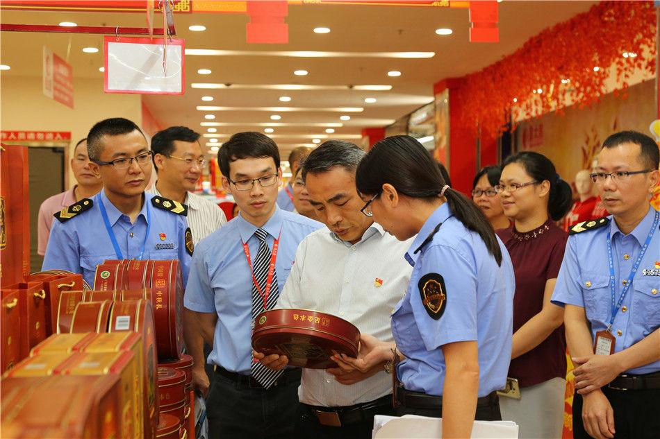 开平市市长邝积康带队开展节前食品、消防安全检查