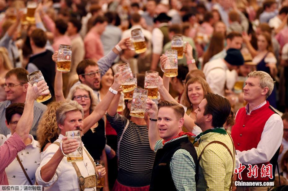 慕尼黑啤酒节盛大开幕