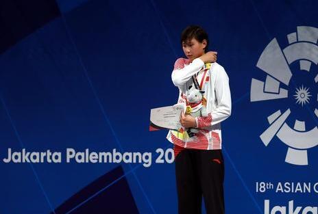 16岁小将短池赛破400自亚洲纪录 距世界纪录0.11s