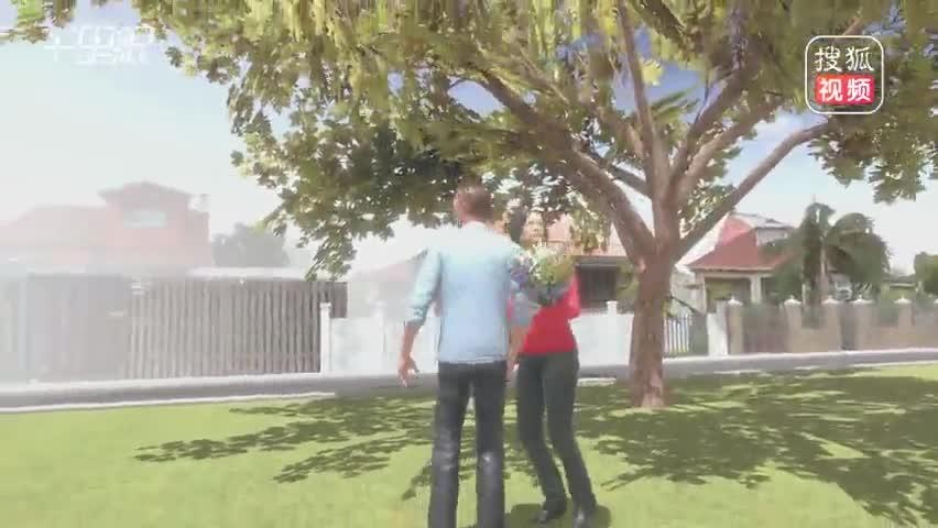 小哥在VR游戏里求婚
