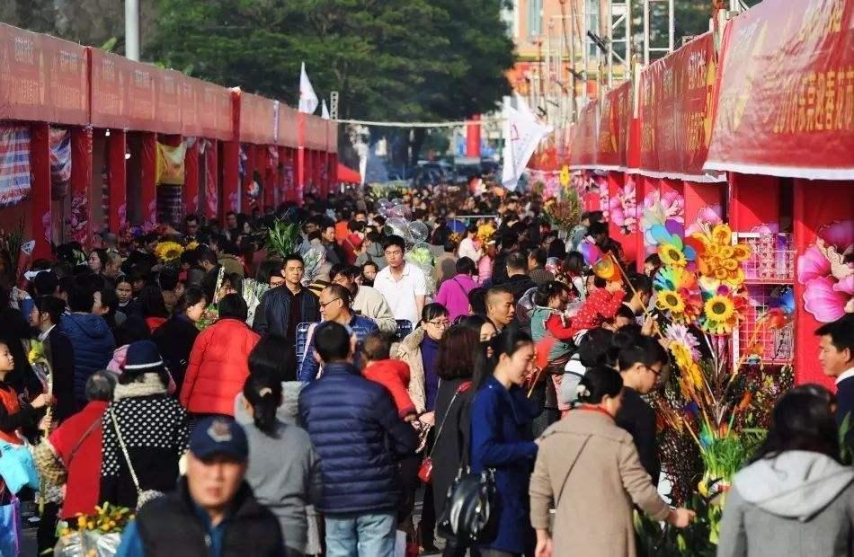 蓬江区将设11个迎春花市 1月28日开市