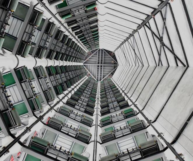 重庆智能立体停车楼建成