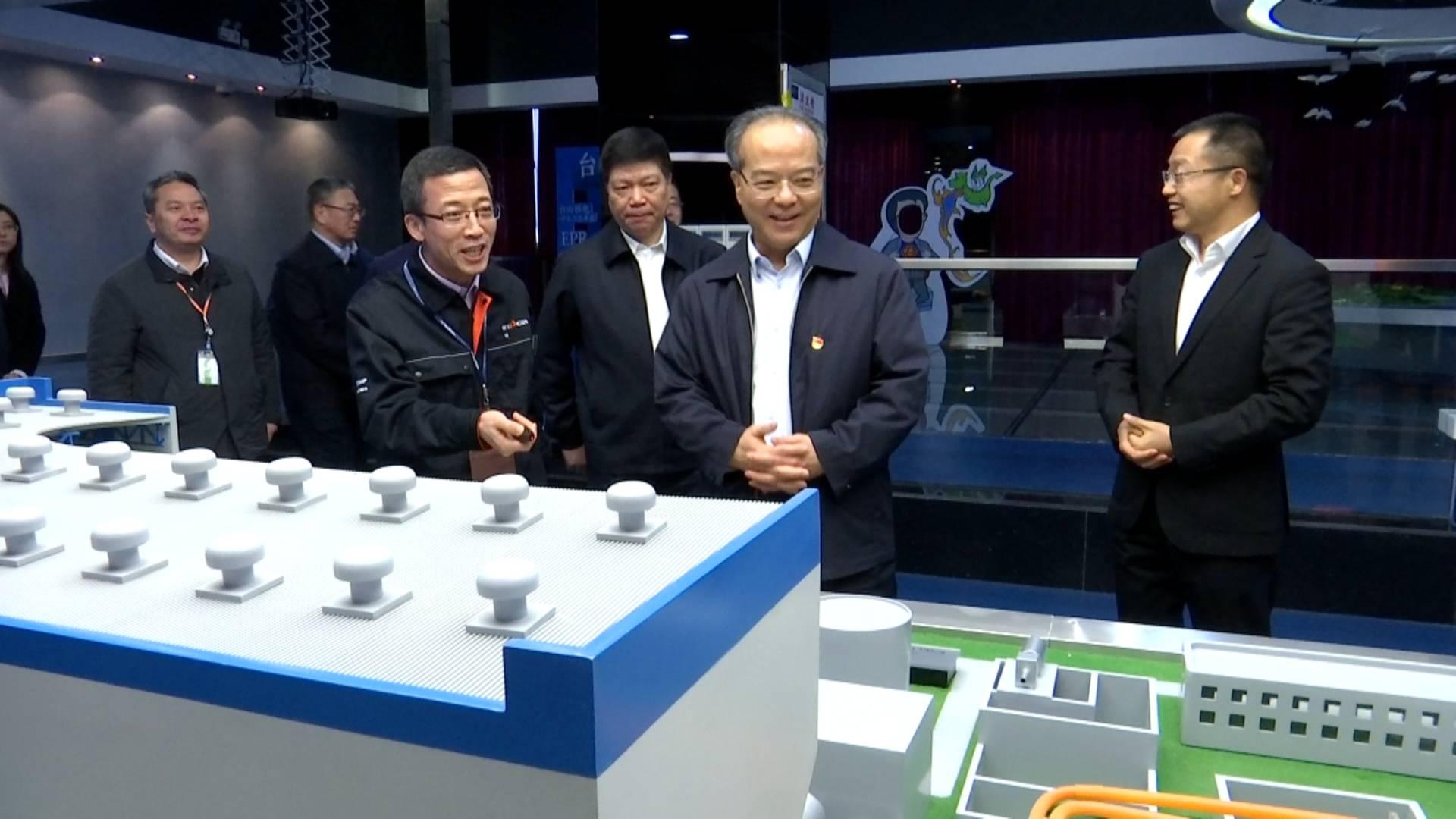 林少春在江门调研,要求加快重点项目建设,做好安全生产工作