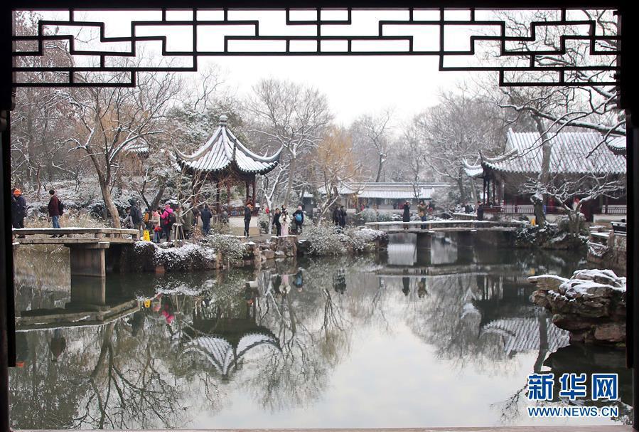 全国普降大雪 看雪后的中国古典之美