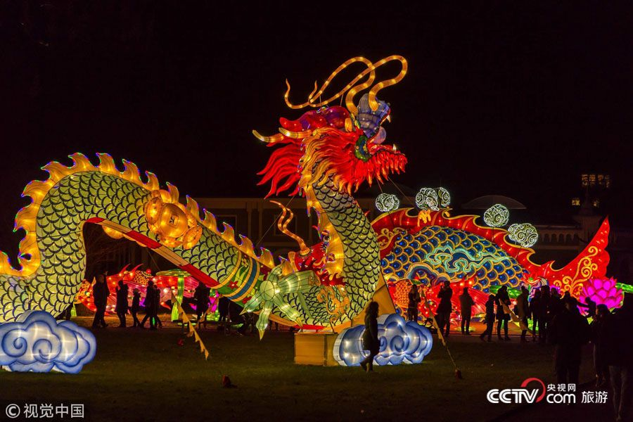 """春节文化""""走出去"""" 海外中国年受世界关注"""