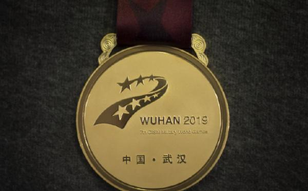 武汉军运会奖牌奖杯正式亮相:融入长城、梅花、黄鹤楼元素