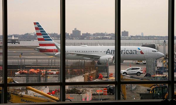 美国航空明年1月复飞波音737MAX?美航空局:无时间表