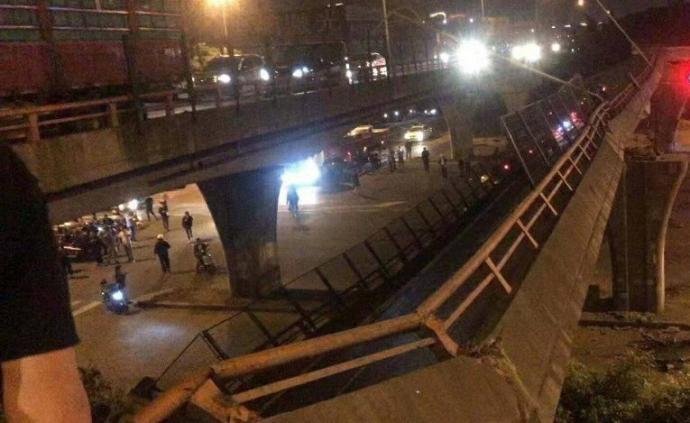 無錫高架橋側翻致3死