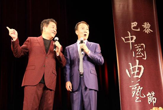 第十二届巴黎中国曲艺节演出亮相塞纳河畔