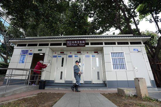 今年底广州将有超8000座公厕,打开微信就能找到离你最近的