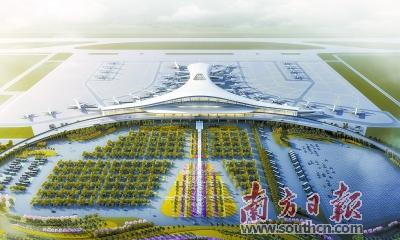 湛江机场迁建工程开工,将具备直航欧美能力