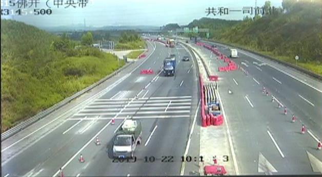 沈海高速公路佛开江门段将实施交通管制