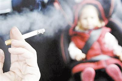 二手煙危害兒童健康