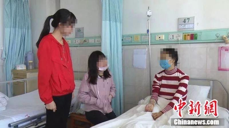 母亲罹患肝癌,广西小姐妹争着捐肝