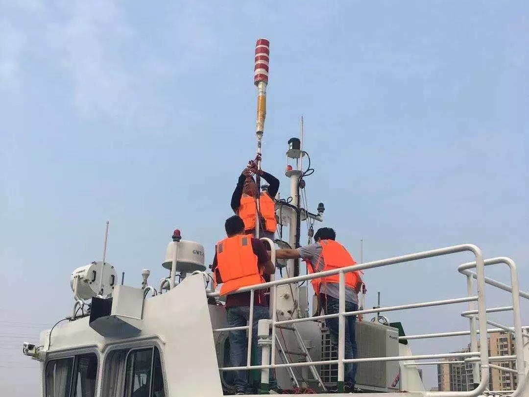 蓬江區東華大橋、勝利大橋啟用智能防撞預警系統
