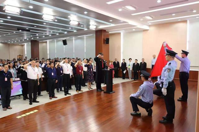 蓬江143名新任人民陪审员就职宣誓并接受培训