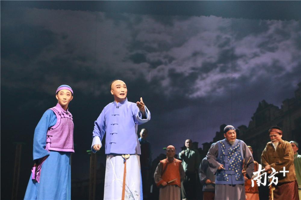 江门原创大型粤剧《梁启超∙少年中国》首演