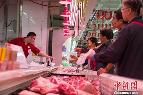 中國豬肉價格止漲回落 政策效果漸顯
