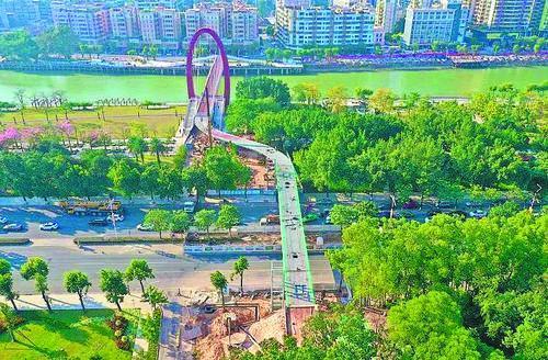 多個項目春節前落成!江門城央綠廊將再添新景觀