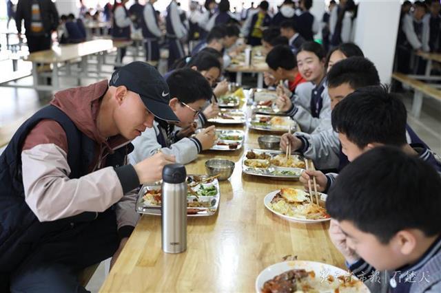 學校陪餐覆蓋率98.4%