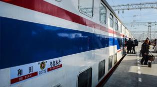 新疆铁路年客运量再创历史新高