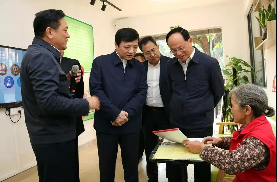 黑龙江省七台河市代表团到我市学习考察