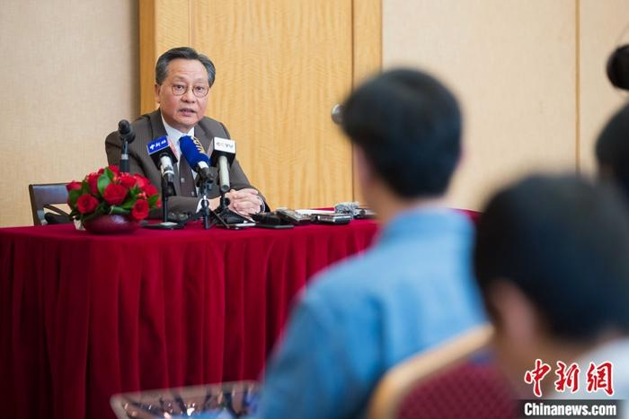 澳門立法會主席高開賢:特區20年來已形成一套較完整法律體系