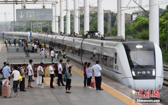 2020年春運火車票今日開售 廣東預計旅客發送量超2億人次