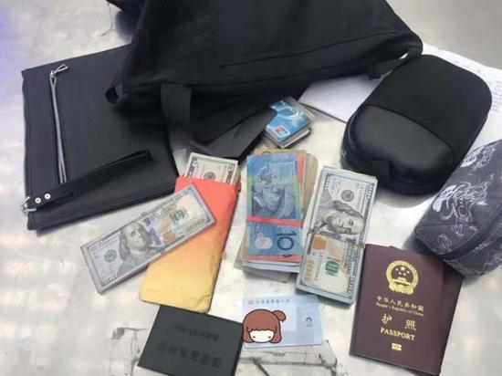 歸國女孩遺失大筆美元 深圳鐵路警方快速找回