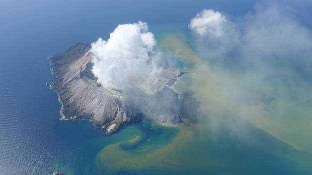 新西蘭火山噴發已致9人失蹤 無中國人
