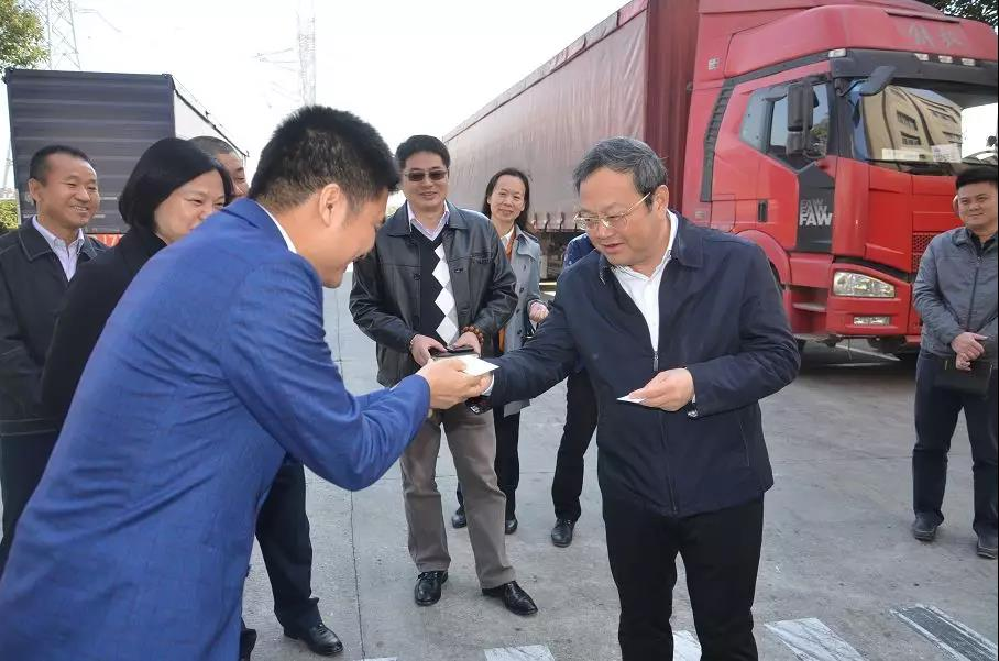 """刘毅开展""""暖企""""活动督导工业经济发展 要求补短板惠企业"""
