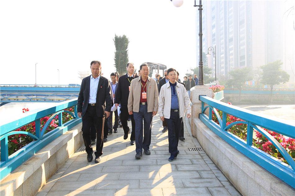 开平市人大常委会开展视察活动 加快重点项目和民生实事进程