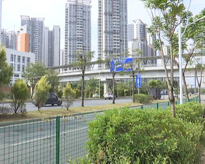 蓬江区又有两座人行天桥美化工程开工 春节前完成