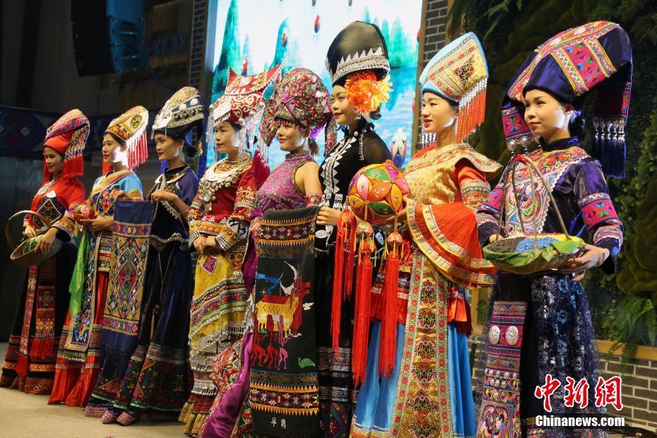 廣西靖西民族民俗表演