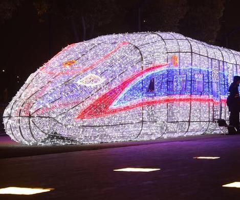 南京青奧藝術燈會璀璨