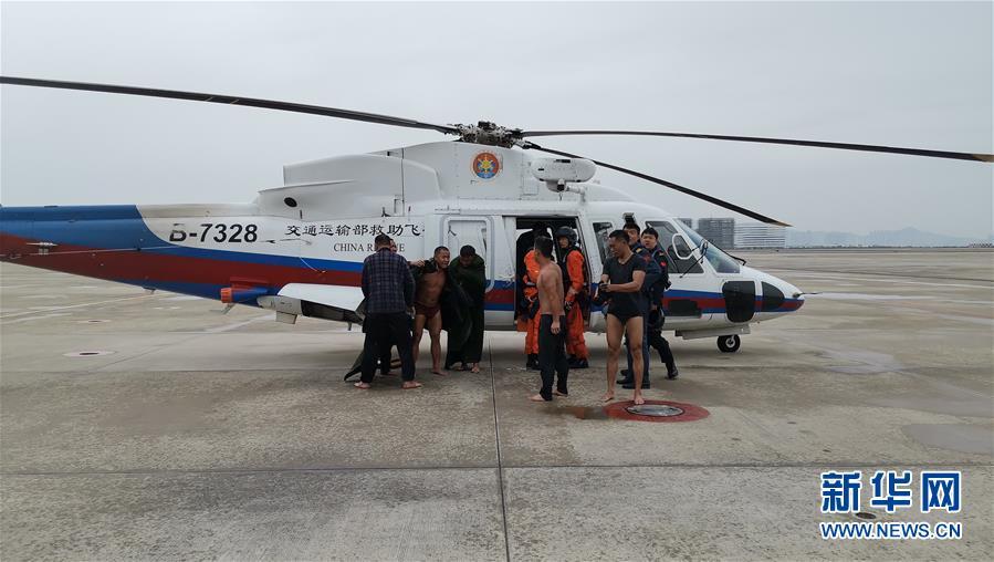 福建漳州海域一艘漁船自沉13人被救起 4人失聯