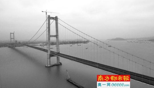 虎门二桥今年5月建成通车在望