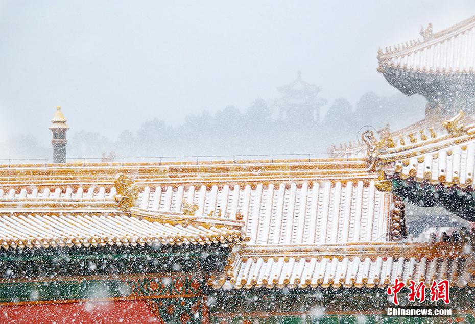 北京雪景大片上线