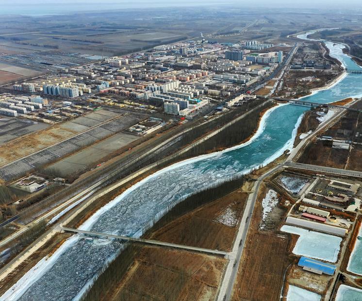 新疆巴州现初春景致