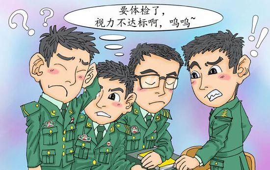 """江门征兵办资助43名大学毕业生:做矫正手术,过""""视力关"""""""