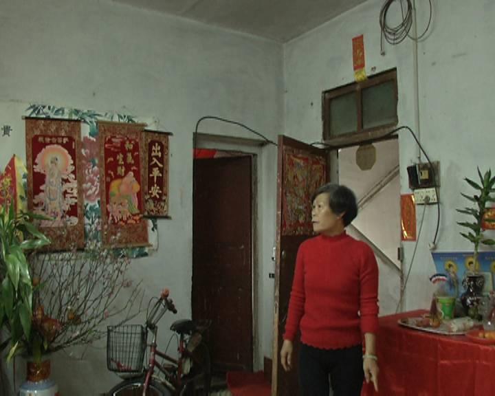 房屋渗水10多年 蓬江区一住户苦不堪言