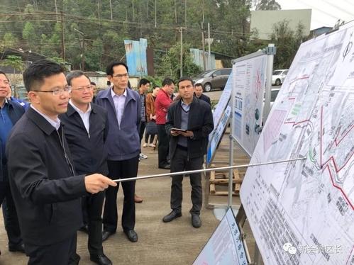市委副书记、市长刘毅到新会区检查黑臭水体综合整治工作