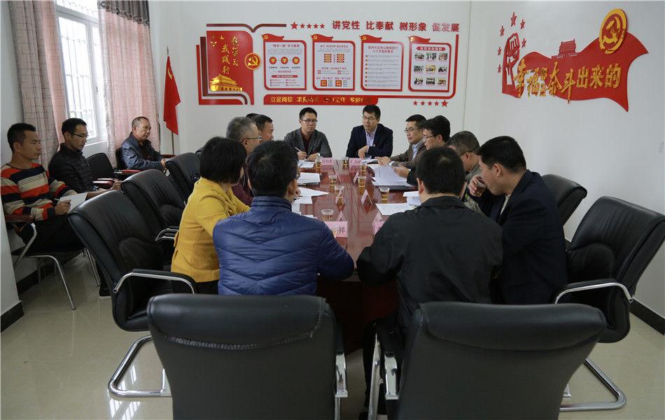 开平市委书记庞正华调研督导软弱涣散党组织整顿工作