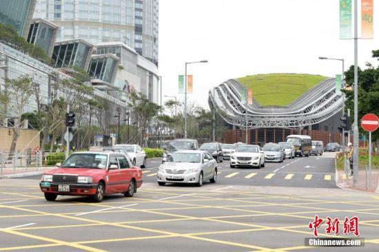 香港中环湾仔绕道24日将全面通车 预计纾缓繁忙交通